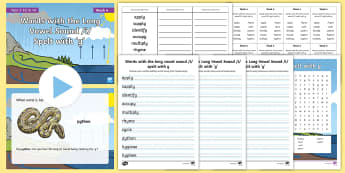 Year 5 Term 1A Week 4 Spelling Pack  -  Spelling Lists, Word Lists, Autumn Term, List Pack, SPaG