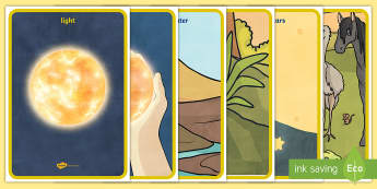 Jewish/Christian Creation Story Posters - religion, creation, RE