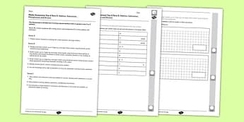Year 6 Maths Assessment Term 3 Addition Subtraction Multiplication Division - Key Stage 2, KS2, Maths, assessment, addition, subtraction, multiplication, division, reasoning