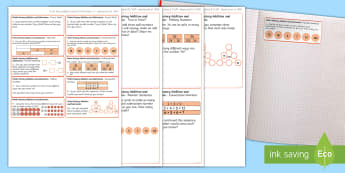 Year 2 Maths Mastery Add and Subtract Challenge Sticky Avery Labels - Maths, Problems, Word Problems, KS1, Key Stage One, Scenario, Challenges, Stickers