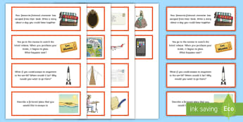 Book Week 2017 Writing Prompt Cards - Australia, Book Week, Escape to Everywhere, Writing, Prompt Cards, literacy, writing, creating texts