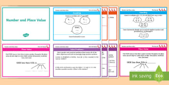 Chilli Challenge Year 4 Place Value Maths Cards - activities, ks2, lks2, y4, number system, independent work, revision, assessmentr