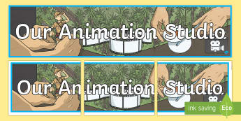 Animation Studio Banner - CfE Digital Learning Week (15th May 2017), Digital learning, teaching strategy, animation display, c