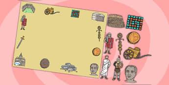 Roman Themed Editable PowerPoint Background Template - roman, editable powerpoint, powerpoint, background template, themed powerpoint, editable, roman themed