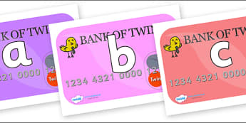 Phoneme Set on Debit Cards - Phoneme set, phonemes, phoneme, Letters and Sounds, DfES, display, Phase 1, Phase 2, Phase 3, Phase 5, Foundation, Literacy
