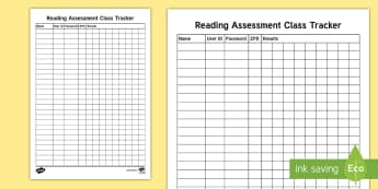 Reading Quiz Assessment Tracker-Scottish - Accelerated Reader, AR, ZPD, Reading, Fiction, Non Fiction, Reading Comprehension,Scottish