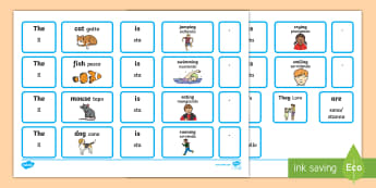 Sentence Builder Cards with Verbs English/Italian - EAL Sentence Builder Cards with Verbs - eal, sentence, cards, sentance, verbsw, verbss, setence, sen
