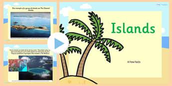 Islands Information PowerPoint - islands, information, powerpoint, island powerpoint, information powerpoint, information about islands, island information