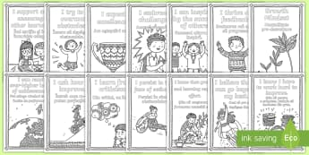 Growth Mindset Statements Colouring Pages Romanian/English  -  mindfulness, growth mindset, colouring, colour, challenge, improve, thrive, inspire, EAL