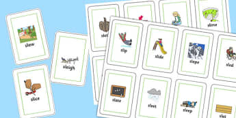 SL Playing Cards - sen, sound, special educational needs, sl, playing cards