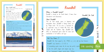 Roundhill Ski Field Fact File - new zealand, roundhill ski field, ski, winter, skiing, activity, fact file