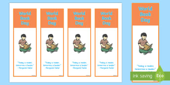 World Book Day Bookmarks - World Book Day, Celebration, Incentive, inspirational, quote, Margaret Fuller, reader, reading, read