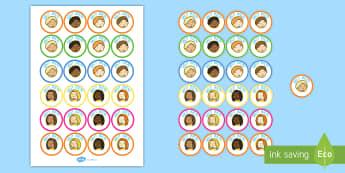 de juego de rol   El colegio Pegatinas - colegio, juego de rol, pegatinas, muy bien, escuela, Spanish