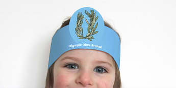 Olympic Olive Branch Role Play Headbands