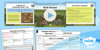 PlanIt Y5 World War II: To Support Teaching on Goodnight Mister Tom Lesson Pack Recounts