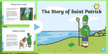 ROI The Life of Saint Patrick PowerPoint - ROI , St. Patrick's Day Resources, Life of St. Patrick, saint patrick, republic of Ireland, ,Irish