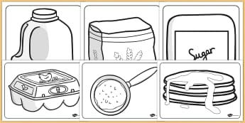 Pancake Day Colouring Sheets - pancake day, colouring, sheets