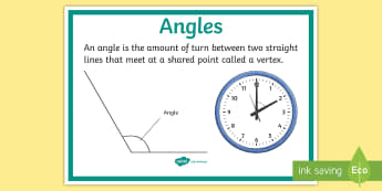 Angles Display Poster - Australian Curriculum Geometry and Measurement, year 3, angles, angle, display poster, geometry, mea