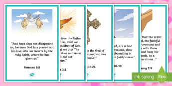 Valentines Day Bible Verses Display Posters - Canada Valentines Day, bible verses, love, God, religion.
