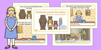 Goldilocks and the Three Bears Story Polish Translation - polish