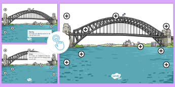 Sydney Harbour Bridge Picture Hotspots - Australia YR 3 and 4 Design Technology, sydney, famous landmarks, design, engineering, design techno