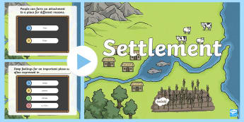 Settlement Multiple Choice Pop Quiz - ACHASSK069, Formative, Assessment, Prior Knowledge, Australian Curriculum, Geography, Year 3,Austral