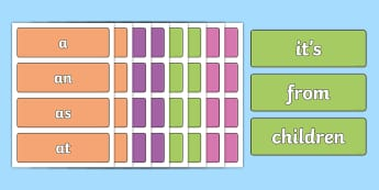 Coloured Phase 2 to 5 High Frequency Words Flashcards - Coloured Phase 2 to 5 Tricky Words Flashcards Pack - phase, tricky words, read, write, read, write,