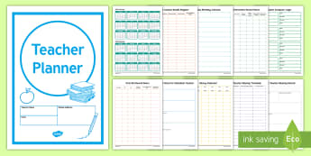 ROI Teacher Planner Academic Year 2017/2018  - plan, organise, planning, teacher tool, tool kit, book, Irish, report