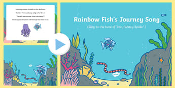 Journey Song PowerPoint to Support Teaching on The Rainbow Fish