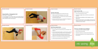 Choreography 'angles' Activity Sheet - dance, choreography, composition, worksheet