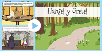 Presentación de Hansel y Gretel - cuentos, tradicion, lectura, hada