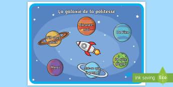 Posters d'affichage : La politesse - Merci, pardon, s'il vous plaît, bonnes manières, cycle 1, cycle 2,