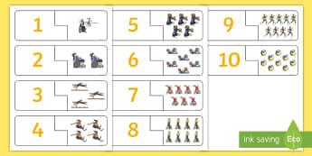Invictus Games Number Puzzle - KS1 - Invictus Games - 23rd Sept 2017