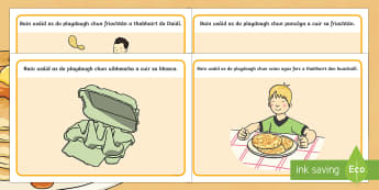 Pancake Tuesday Playdough Mats Gaeilge - pancake day, pancake tuesday, shrove tuesday, pancake, gaeilge, playdough mat
