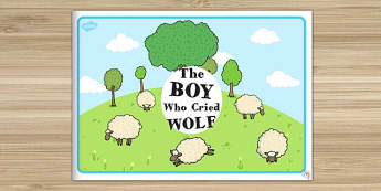 The Boy Who Cried Wolf eBook - Aesop's fables, stories, story book