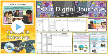 Changes in Technology Resource Pack - CfE Digital Learning Week (15th May 2017) Digital learning and teaching strategy, computer science,