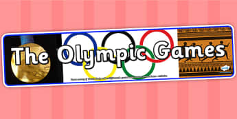 The Olympic Games Photo Display Banner - olympic games, IPC display banner, IPC, olympic games display banner, IPC display, the olympics banner