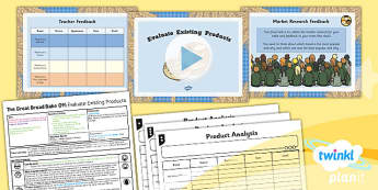 D&T: The Great Bread Bake Off: Evaluate Existing Products LKS2 Lesson Pack 2