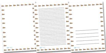 Life Boat Portrait Page Borders- Portrait Page Borders - Page border, border, writing template, writing aid, writing frame, a4 border, template, templates, landscape