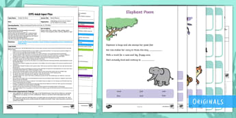 EYFS Ronald Rhymes Adult Input Plan and Resource Pack - Ronald the Rhino, Twinkl story book, rhyming, rhyme, phonics, listening, cll, c and l, communication