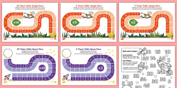 Times Tables Games - KS1 Maths, times tables, x tables, 2 x tables, 5 x tables, 10 x tables, multiplication, number facts