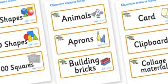 Safari Themed Editable Classroom Resource Labels - Themed Label template, Resource Label, Name Labels, Editable Labels, Drawer Labels, KS1 Labels, Foundation Labels, Foundation Stage Labels, Teaching Labels, Resource Labels, Tray Labels, Printable la