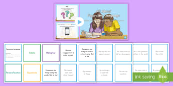 Understanding Figurative Language Activity Pack - US Requests, figurative language: simile, metaphor, personification, hyperbole, language, sorting ca