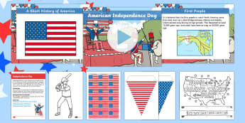 Resource Pack Independence Day 2017 - Calendar Planning July 2017, america, usa