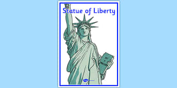Statue of Liberty Display Poster - statue of liberty, display poster, display, poster, usa, north america