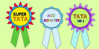 Odznaki z okazji Dnia Ojca