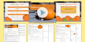 Inheritance: Pumpkin Genetics Lesson Pack - genetics, alleles, punnett squares, genetic crosses, inheritance, variation, DNA