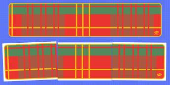Tartan Editable Display Banner for Publisher - tartan, display