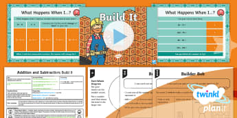 PlanIt Y1 Addition and Subtraction Lesson Pack Exploring Number Bonds (5) - add, total, take away, represent, reason, depth, mastery, bar model, part-whole diagram,  explaining