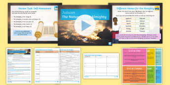 Judaism Lesson 2: The Nature of the Almighty Differentiated Lesson Pack - Jewish, KS4, GCSE, God, beliefs, practices